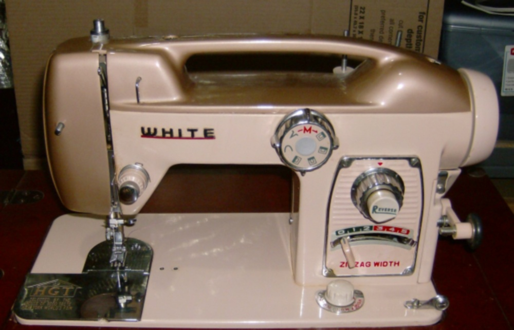 Vintage Sewing Machines Fair Lady Classy White Sewing Machine