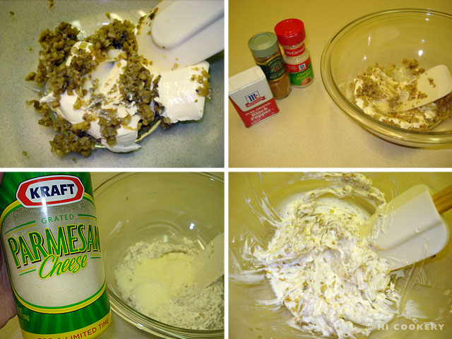 Cream Cheese Stuffed Brownies