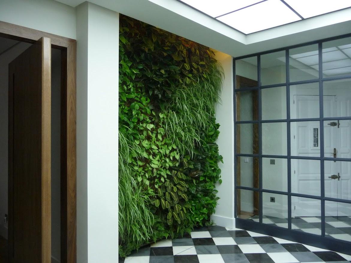 Jardines verticales alicante forestal - Jardines verticales interiores ...