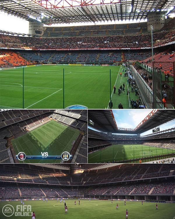 Chiêm ngưỡng các sân vận động trong FIFA Online 3 5