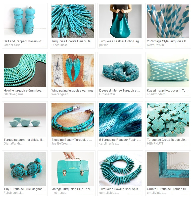 Totally Turquoise Treasury