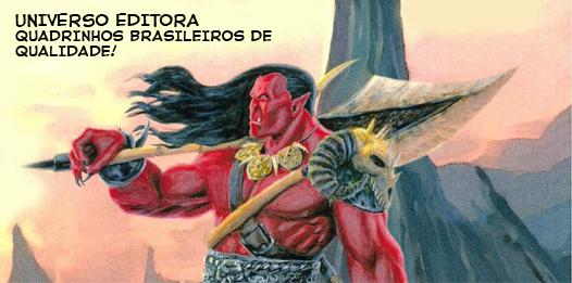 UNIVERSO EDITORA HQS DE QUALIDADE!