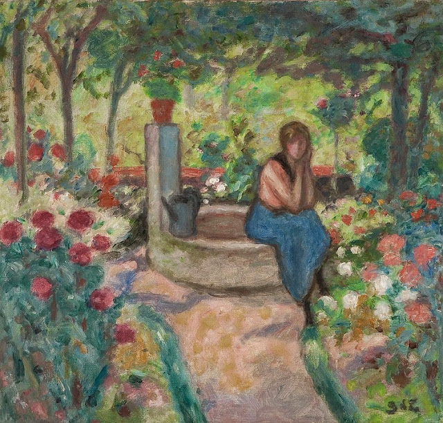 Georges d'Espagnat - Young Girl near the Well, c. 1911