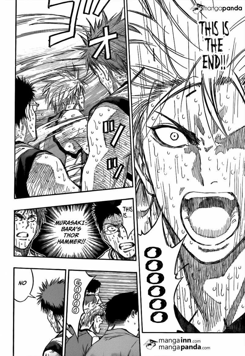 Kuroko no Basket Manga Chapter 201 - Image 10