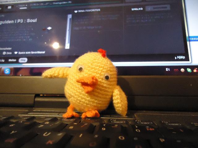 Пиле на една кука
