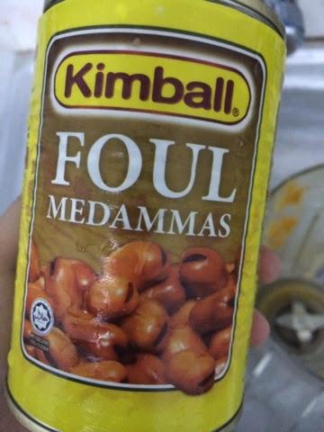 resepi kacang pool