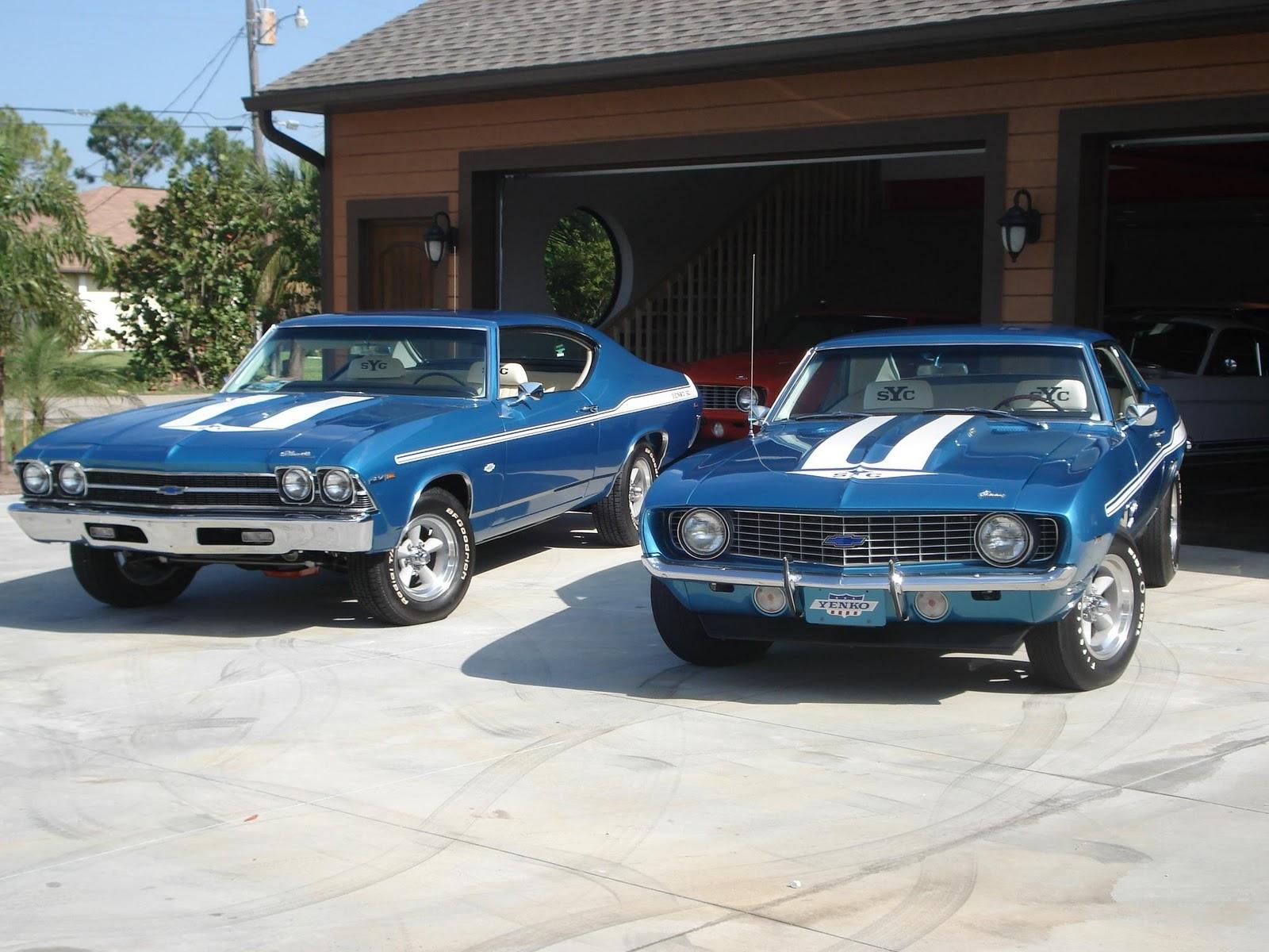 Cars Showroom American Muscle Cars