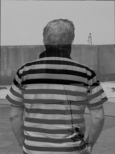 black and white_ruimnm_double_exposure