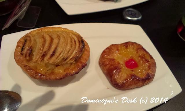 Peach Tart and Apple Tart