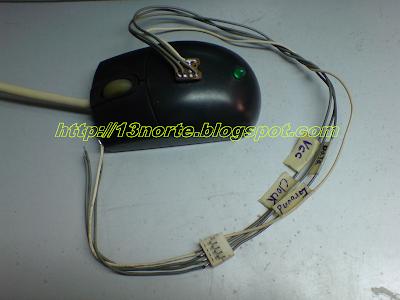 Programador EEPROM con el adaptador conectado