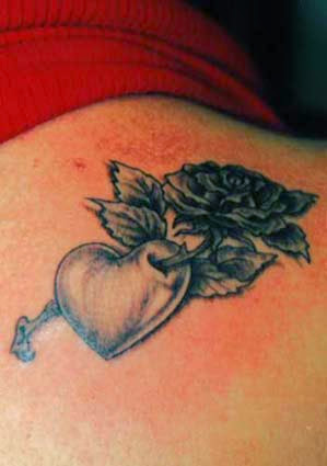 56 great rose tattoo ideas when life meets style. Black Bedroom Furniture Sets. Home Design Ideas