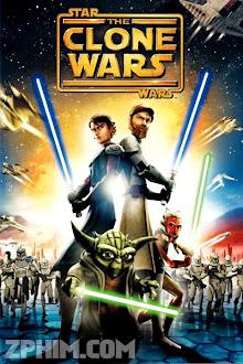 Chiến Tranh Giữa Các Vì Sao: Chiến Tranh Vô Tính - Star Wars: The Clone Wars (2008) Poster
