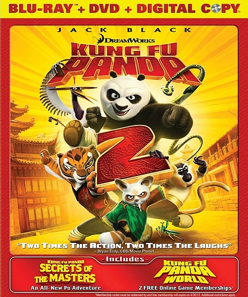 kfp2, kung fu panda 2,dvd, blu-ray, digital copy, combo, image, cover, box, art, hd, quality