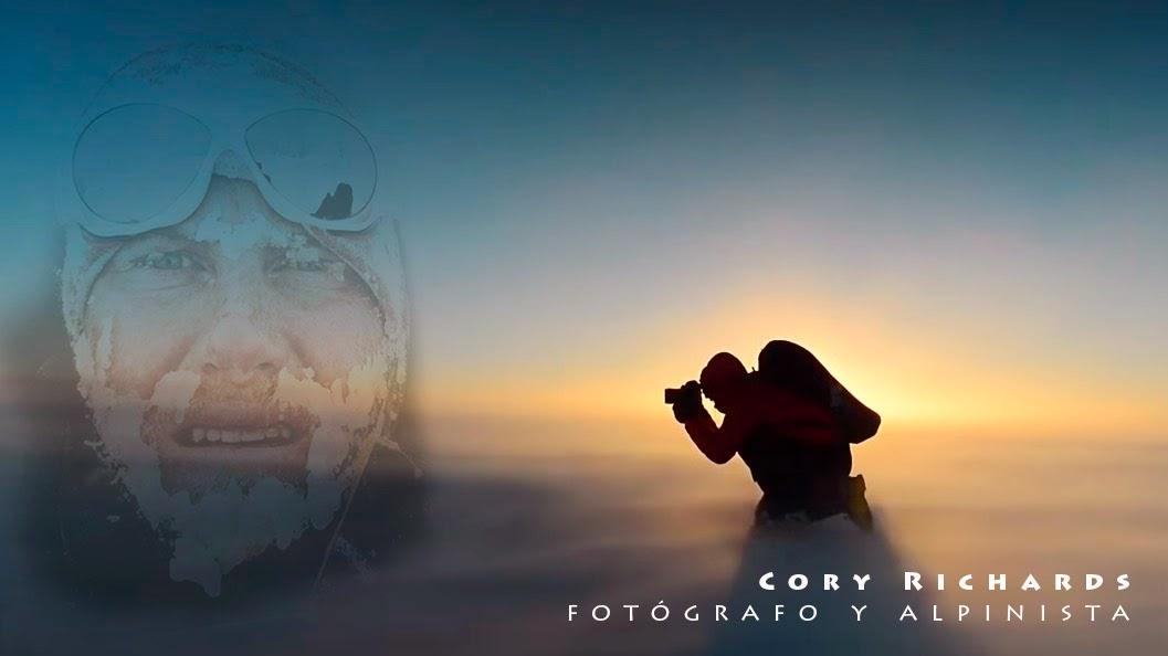 Cory Richards , reportero gráfico de National Geographic