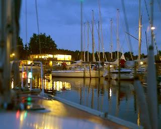 En aften i Herslev havn