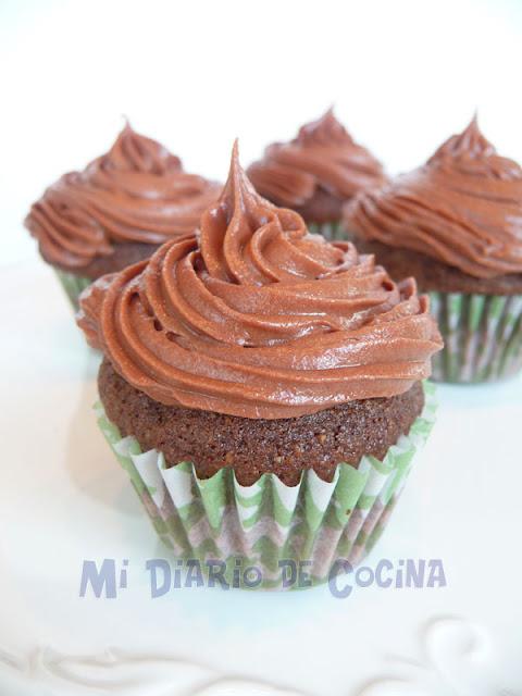 Chocolate orange mini cupcakes