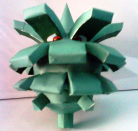 Pokemon Pineco Papercraft