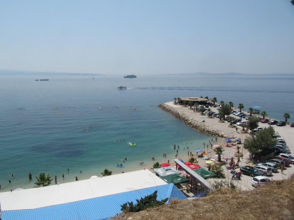A Beach Outside of Split