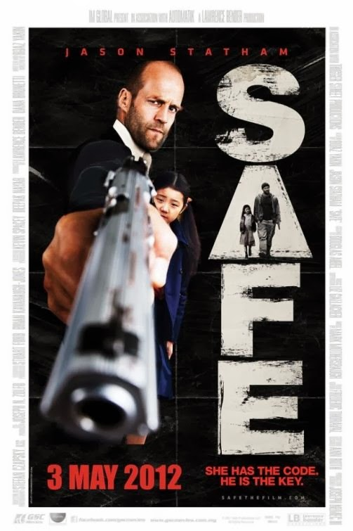Poster Of Safe (2012) Full Movie Hindi Dubbed Free Download Watch Online At Alldownloads4u.Com
