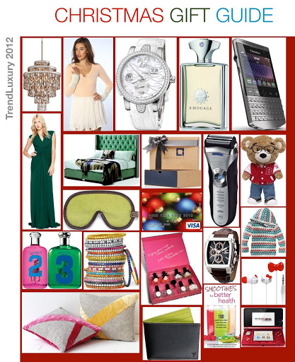 xmas Gifts2 2012: Christmas Gift Guide