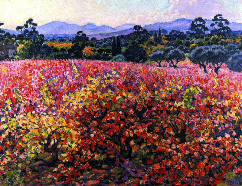 Theo van Rysselberghe - Vines in October
