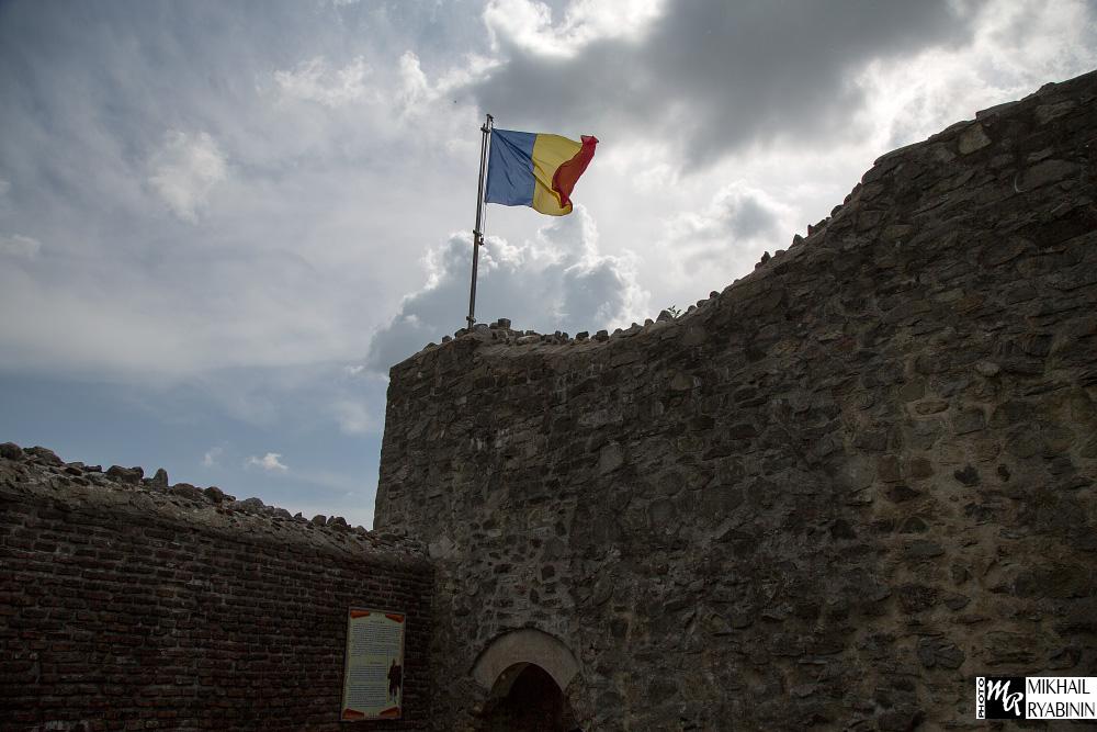 Настоящий замок Дракулы. Центральная башня.