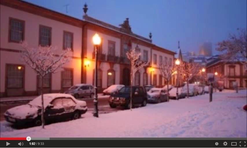 Vídeo - Neve no Concelho de Lamego