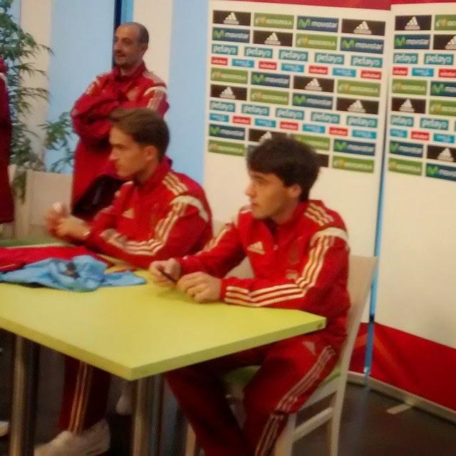 Numancia de Ares. Selección Española Sub-21 (10/11/2014)