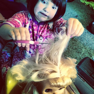 Baby Alive Hair Cut
