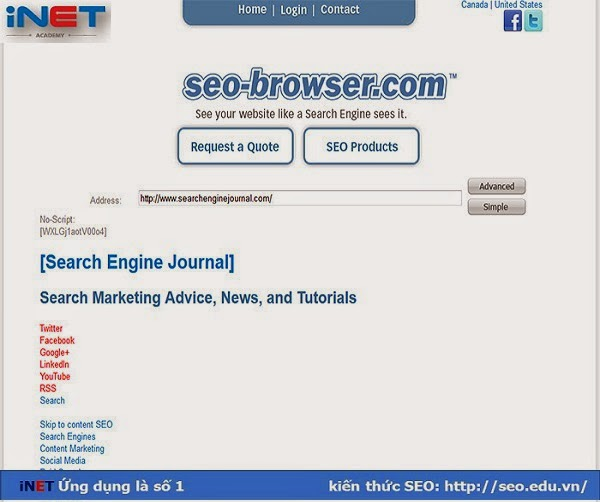 SEO-browser