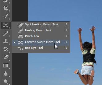 Content-Aware Move Tool do Photoshop CS6