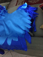 parrot costume outer wings