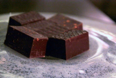Chocolates made from water at the Corinthia Hotel in London England