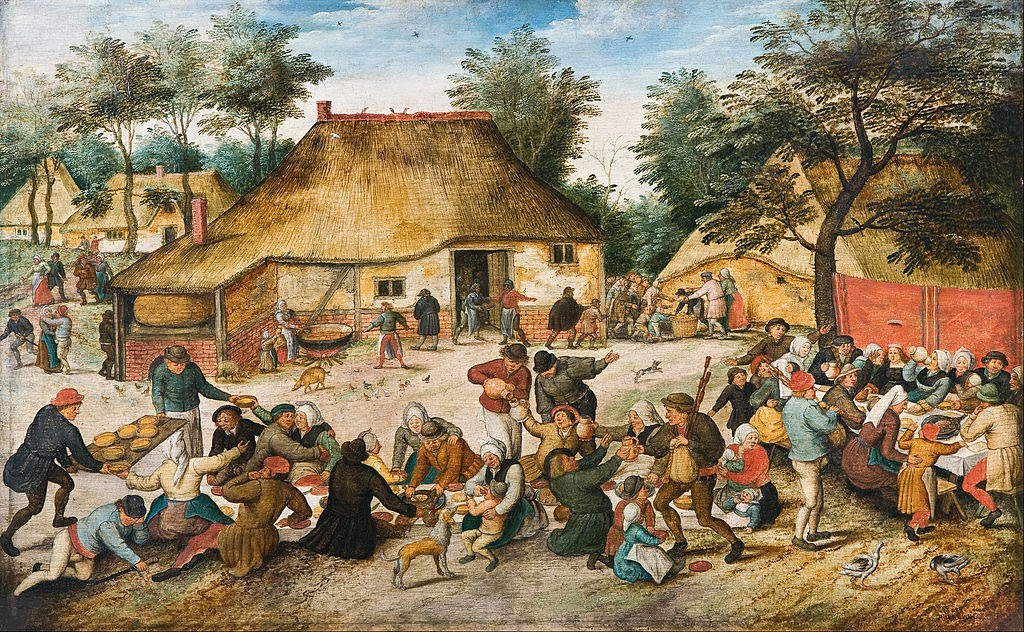 Pieter Brueghel the Younger - The Peasant Wedding - Google Art Project