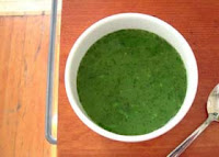 Weight Loss Recipes : Minted Pea Soup