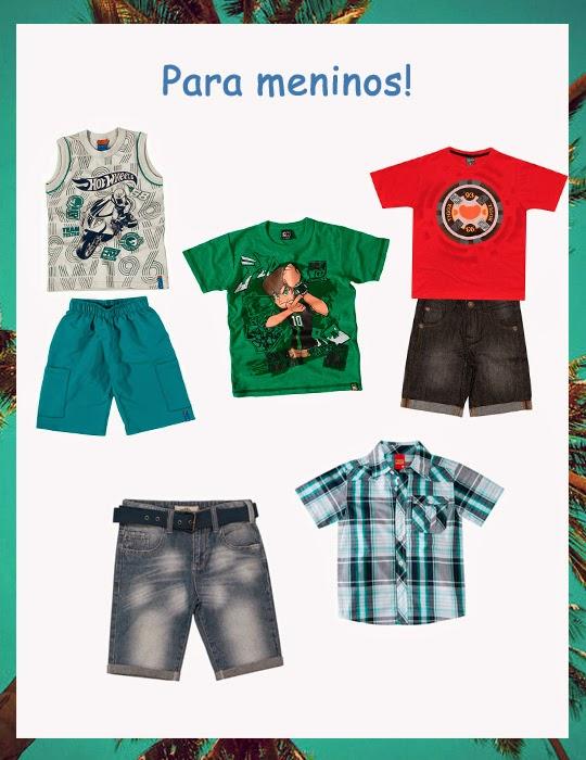 roupas de menino