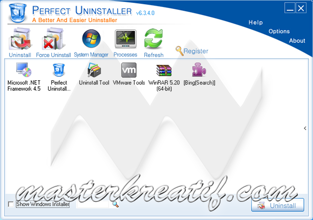 Perfect Uninstaller 6.3.4.0