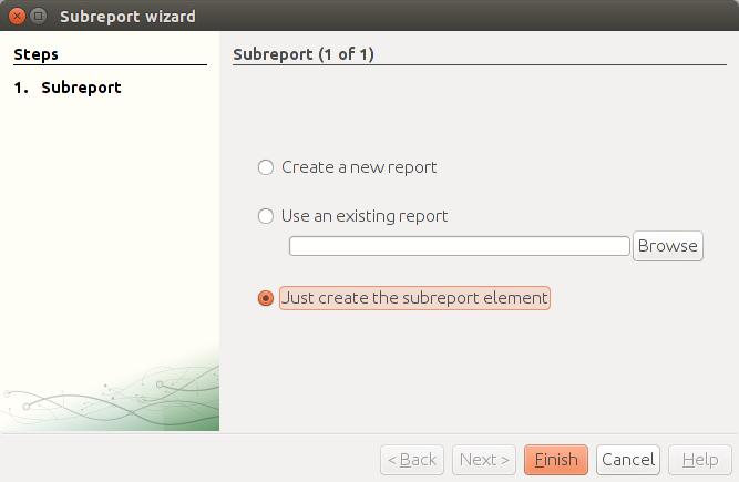how to create jasper report