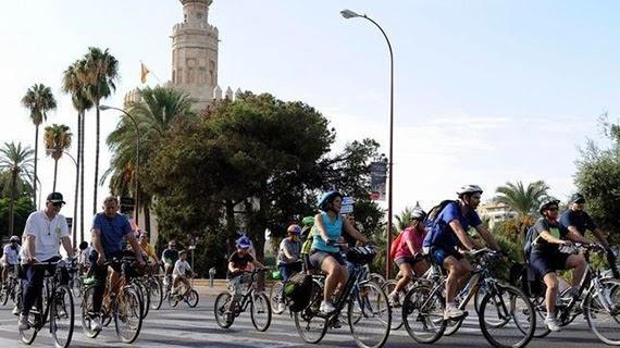 Sevilla ocupa el 4 lugar en el ránking de ciudades amigables para moverse en bicicleta