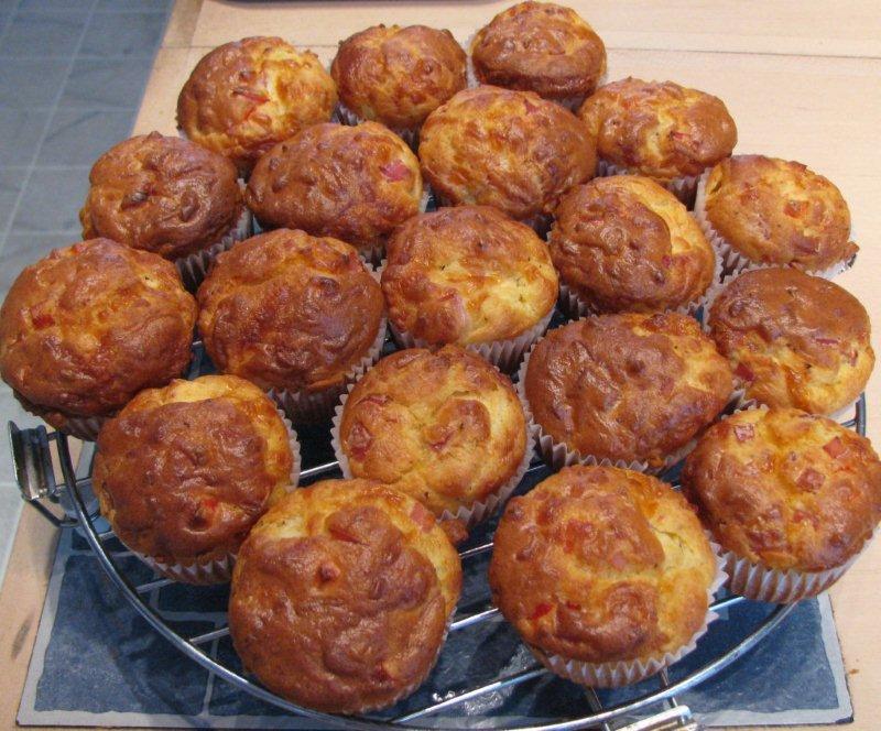 petits cakes jambon et vache-qui-rit  IMG_1617