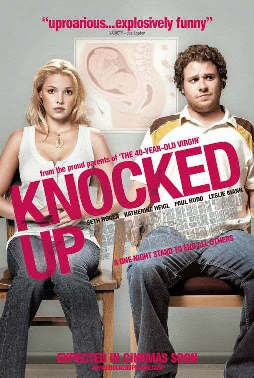 Poster Of Knocked Up (2007) Full Movie Hindi Dubbed Free Download Watch Online At Alldownloads4u.Com