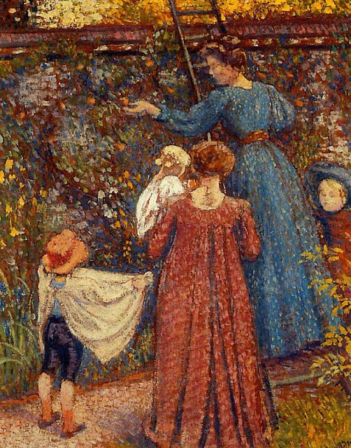 Georges Lemmen - Picking Fruit (No.2)