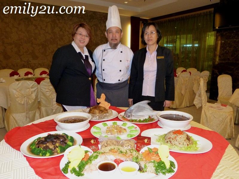 Kinta Riverfront Hotel's CNY Reunion Dinner