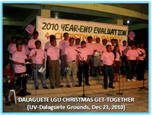 Dalaguete LGU Christmas Get-Together