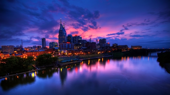 Nashville Skyline wallpaper
