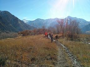 Ascending Buffalo Peak in autumn (2013)