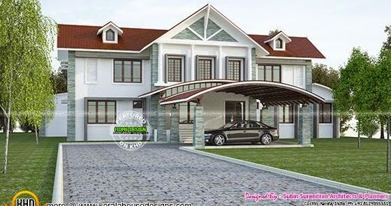 luxury house with swimming pool kerala home design and swimming pools designs images plans for kerala homes