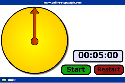 free online stopwatch with music