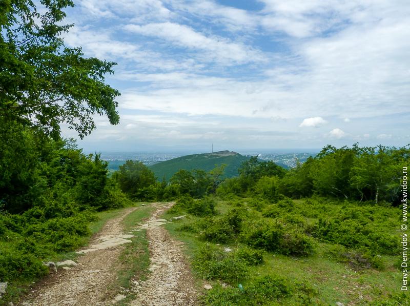 Виды с гор в Грузии