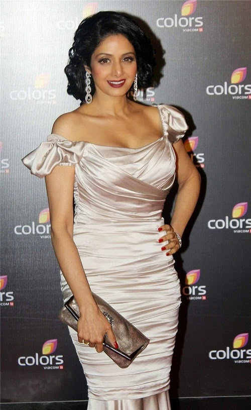 Most common indian gorgeous and sexiest actress Sridevi.